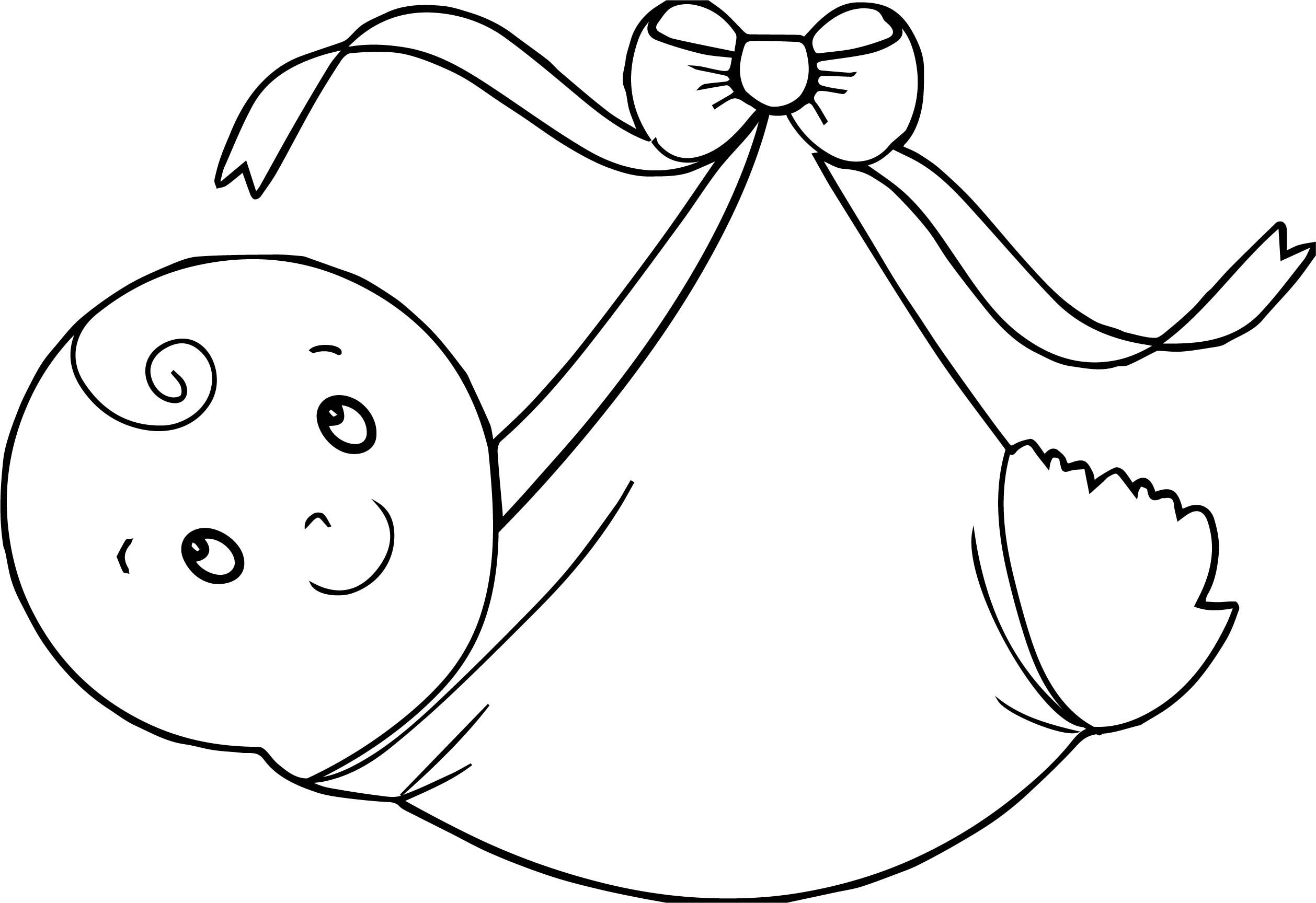 Awesome Swaddling Clothes Baby Boy Coloring Page Boy Coloring Coloring Pages For Boys Baby Coloring Pages