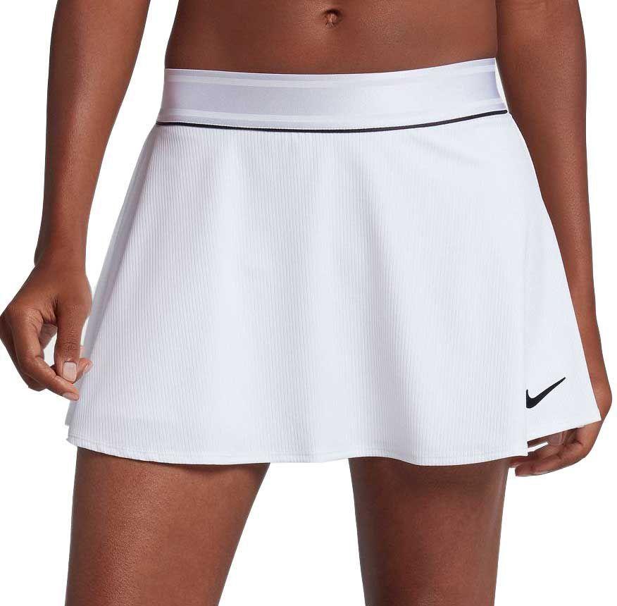 Nike Women S Court Dri Fit Tennis Skirt Size Small White Tennis Skirt White Tennis Skirt Tennis Clothes