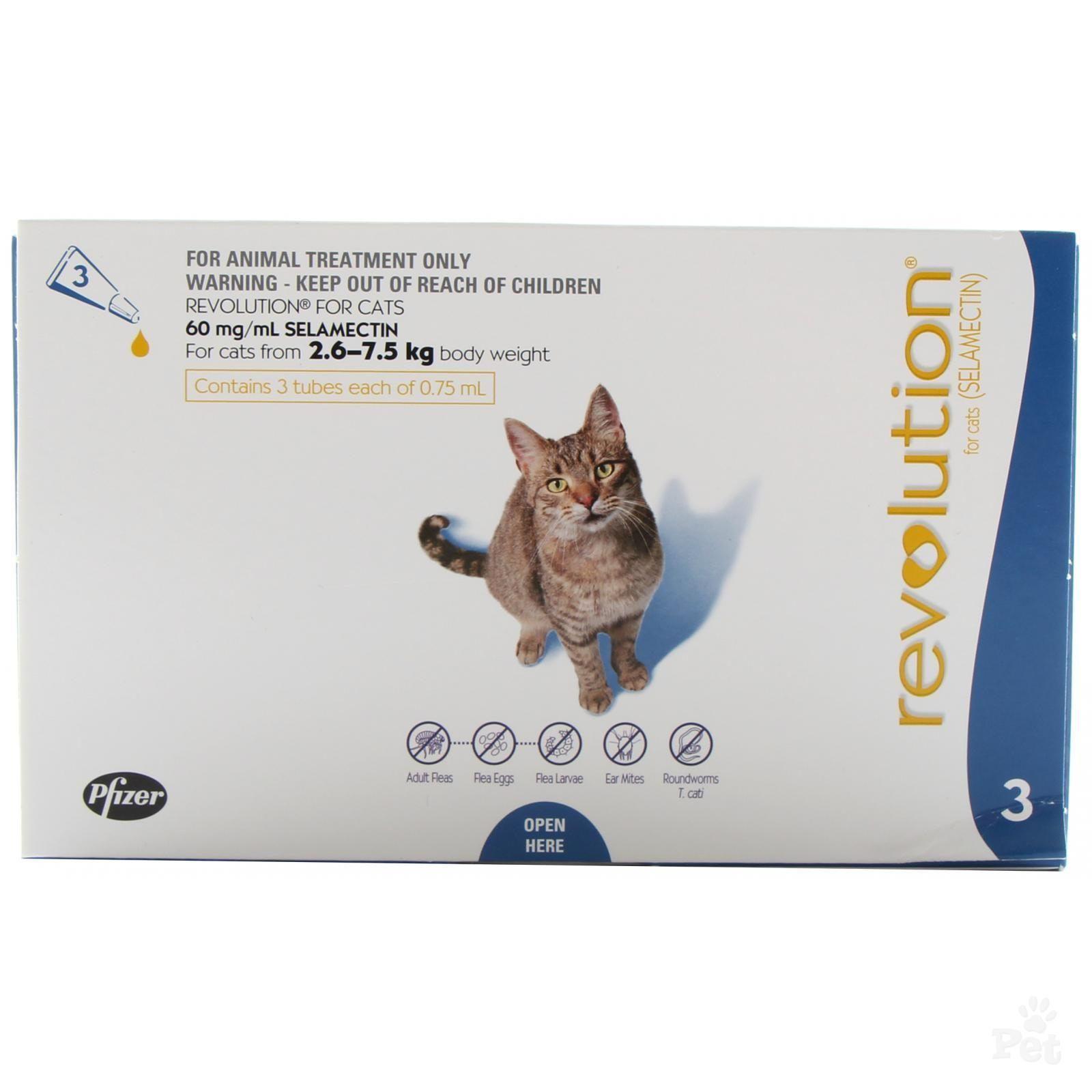 Revolution Flea Treatment For Cats