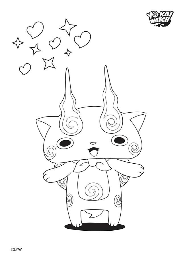 Super Coloriage yo-Kai Watch #yokaiwatch | YoKai party | Pinterest FO54