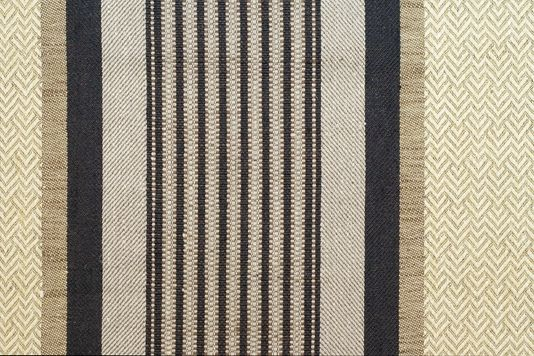 Valdivia Striped Upholstery Fabric A Wide Beige Chevron Stripe With