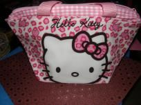 Hello Kitty Pink Leopard Stylish Make Up Bag $12.99