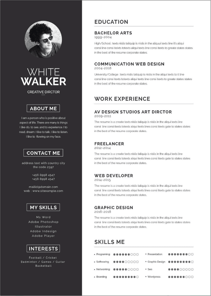 50+ Free Microsoft Word Resume Templates to Download in
