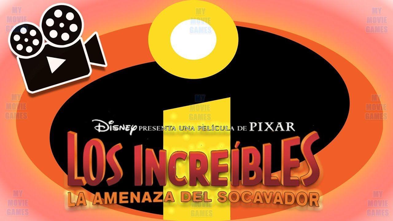 Los Increibles 2 La Pelicula Completa Del Juego En Espanol Disney Pixar Peliculas Infantiles En Espanol Peliculas Completas Peliculas