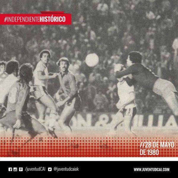 #IndependienteHistorico Fecha 17 del Torneo Metropolitano. Como local, #Independiente, empata 1 a 1 frente a Tigre.