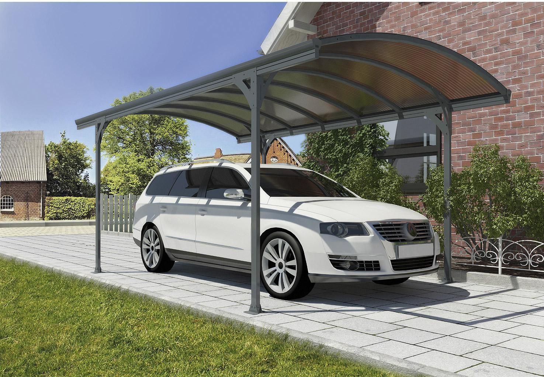 Carport métal Victoria 1 voiture, 13.8 m² COMINTESCHALETS