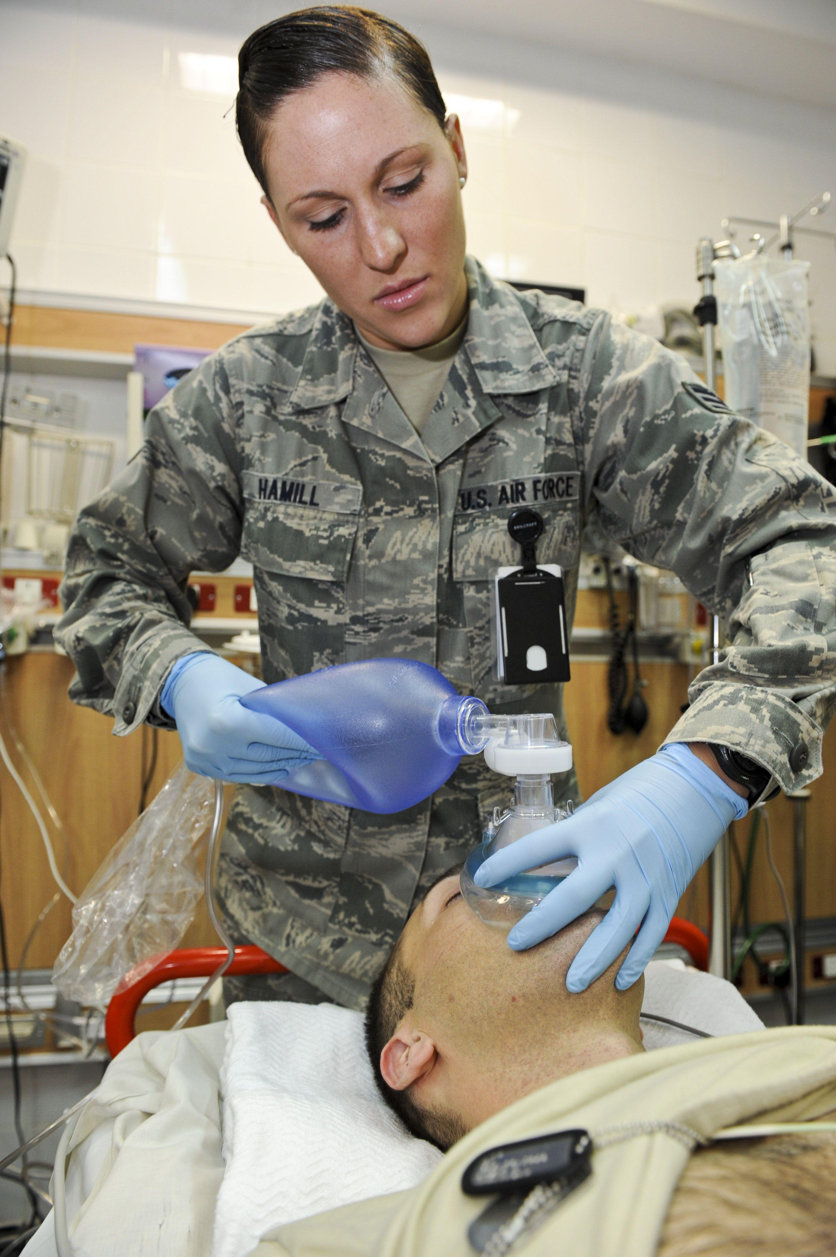 Day on the Job Nurse, medical technician > U.S. Air