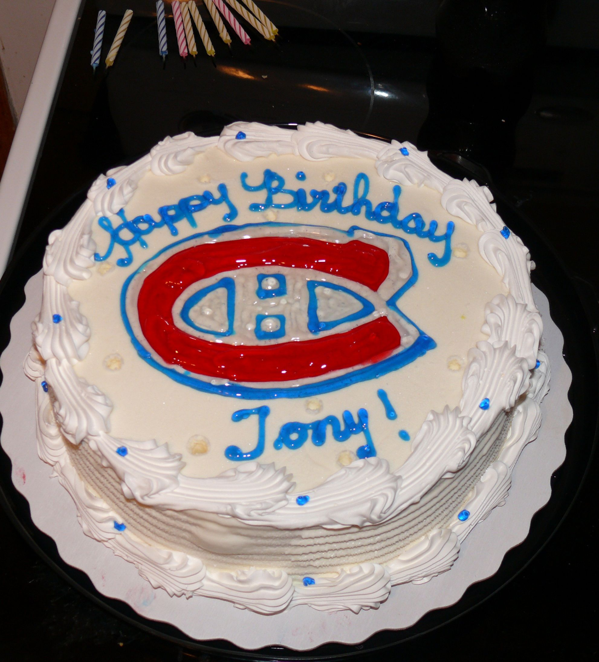 Tonys 33rd Birthday Cake