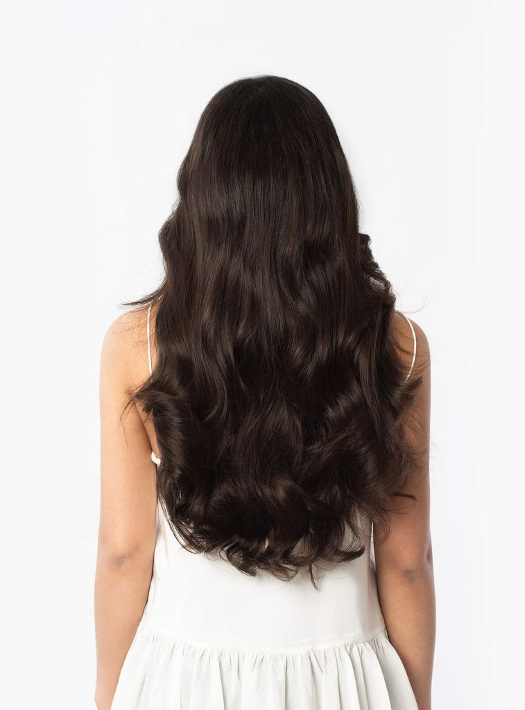 20 Classic Dark Brown Clip Ins 20 160g With Images