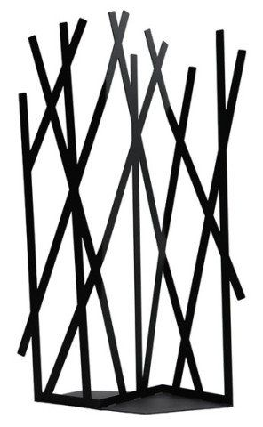 Misto de biombo e cabideiro, a divisória de metal laqueado (1,86 x 1 m) é assinada por Gianluigi Landoni. Por R$ 4,6 mil na Casamatriz.
