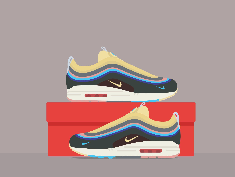 buy online 63f66 192c6 Nike Air Max 97 1 Sean Wotherspoon by Wisnukoro Anggriawan