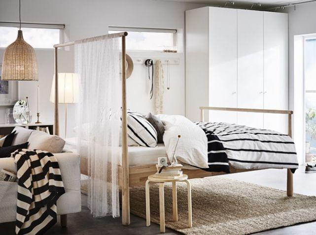 30 Jolies Suites Parentales Elle Decoration Deco Chambre Ikea Chambre A Coucher Ikea Et Meuble De Separation
