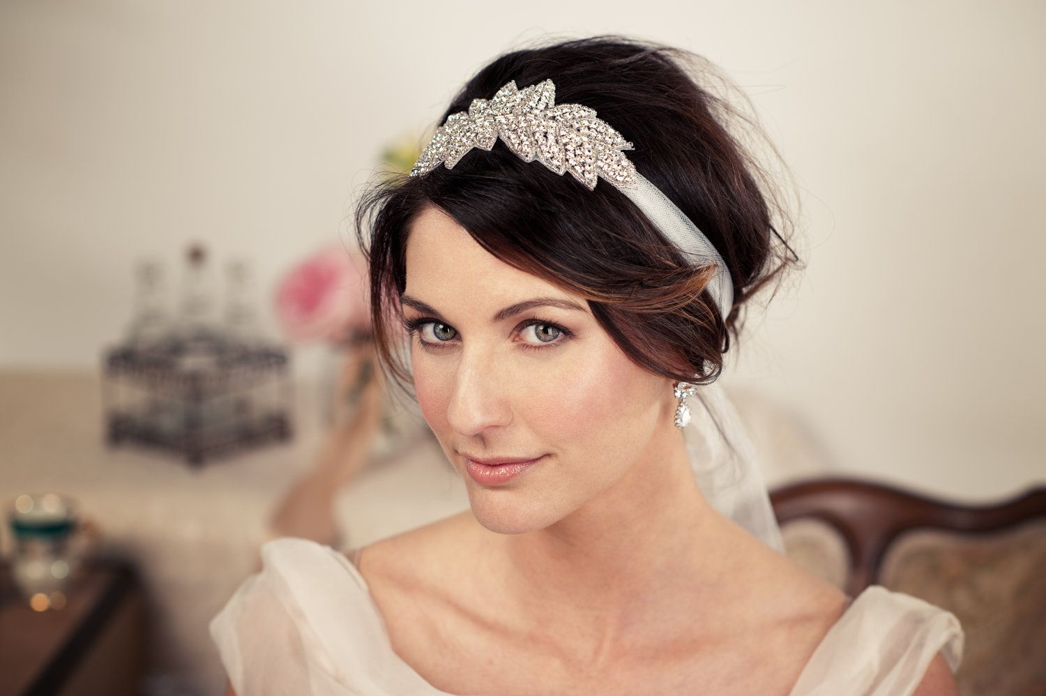 wedding-hairstyles-with-headband 1,500×998 pixels | make up/hair