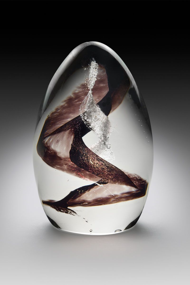 Can You Get Dna From Ashes After Cremation Mini Memorial Egg With Dna Swirl Crystal Remembrancecrystal Remembrance Memorial Glass Swirl Artful Ashes