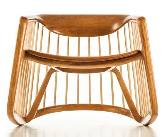'Harper' rocking chair by Noé Duchaufour-Lawrance for Bernhardt Design