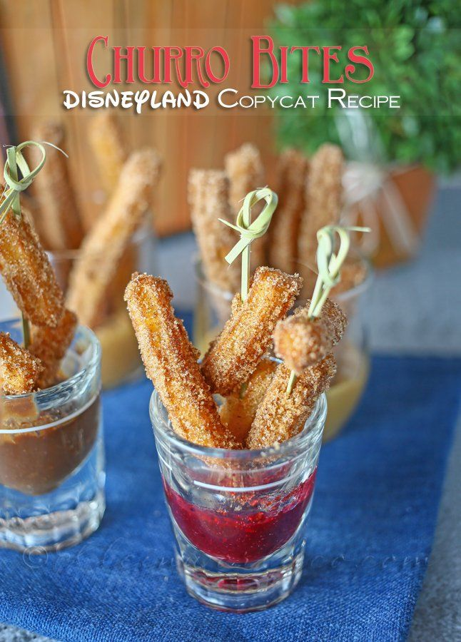Churro Bites are a Disneyland Inspired treat that will