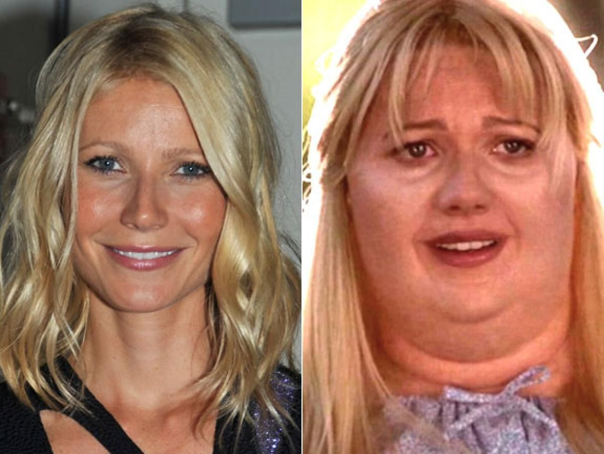 Gwyneth Paltrow Shallow Hal Photos Movie Makeovers Of The