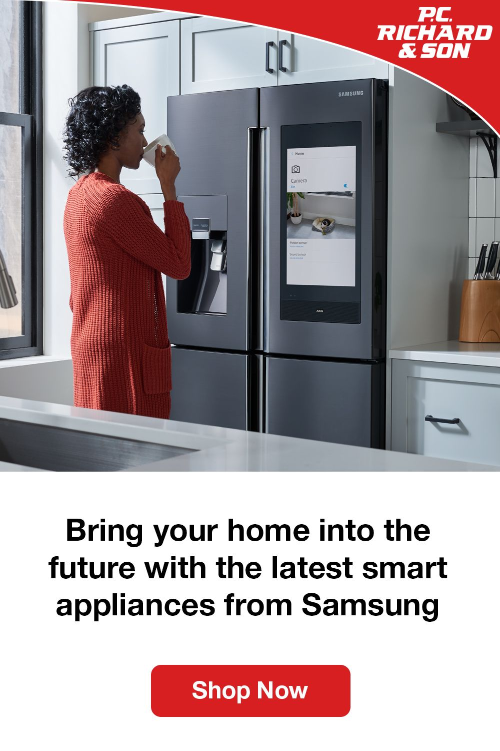 Bring Your Home Into The Future With The Latest Smart Appliances From Samsung Samsung Kitchen Smart Appliances Samsung Kitchen Appliances