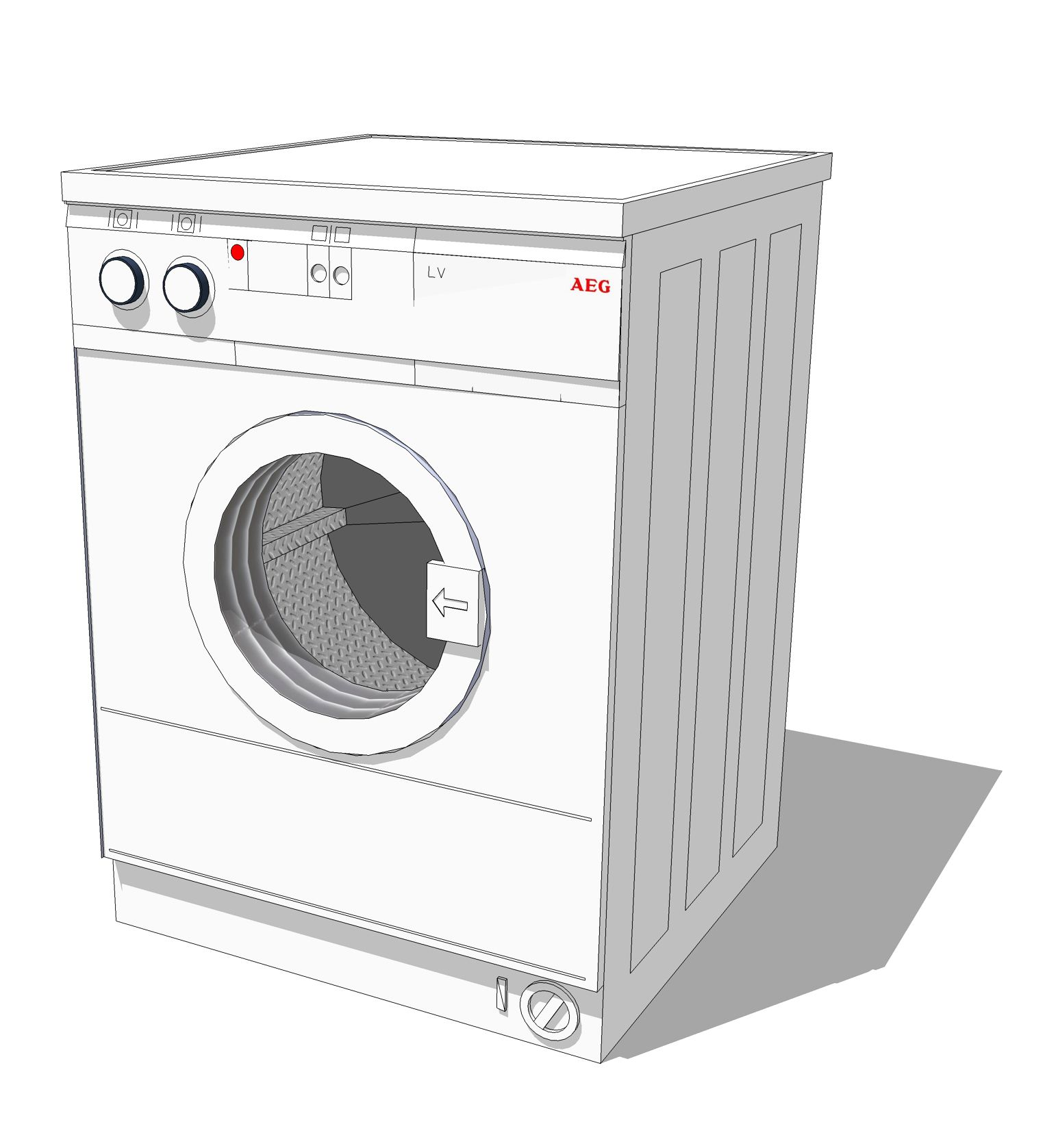 Washing Machine Drawing ~ Elevation plan drawing google search ındustrıal desıgn