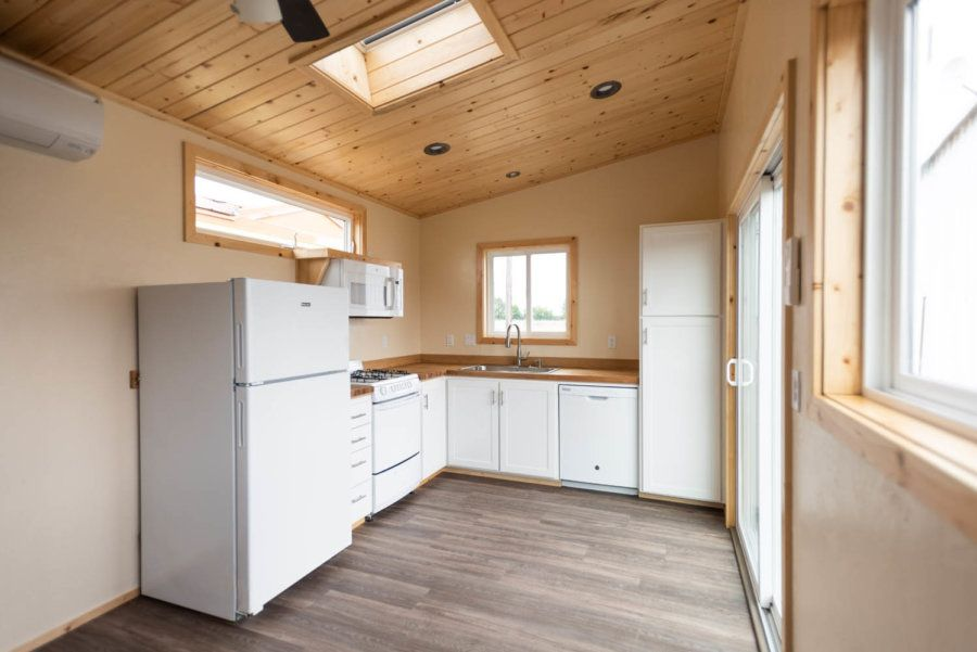 Aging In Place Tiny House On Wheels By Tiny Smart House In 2020 Tiny House On Wheels Tiny House Talk House On Wheels