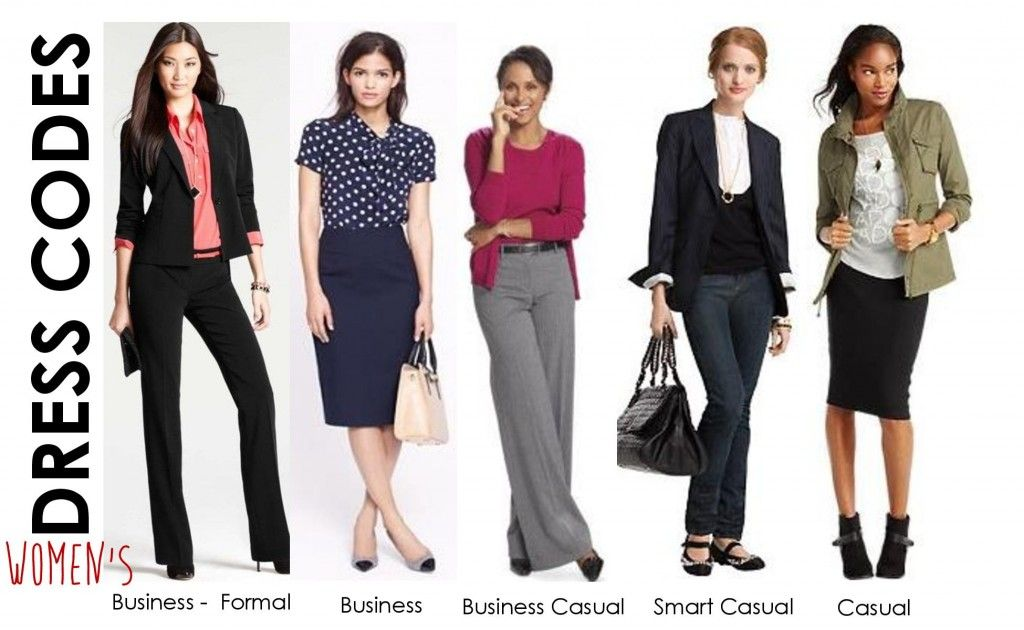 So, what exactly is the business casual dress code?