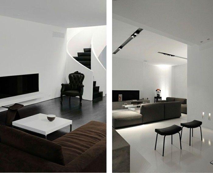 Wohnzimmer minimalistisch einrichten, doch mit eigenem ...