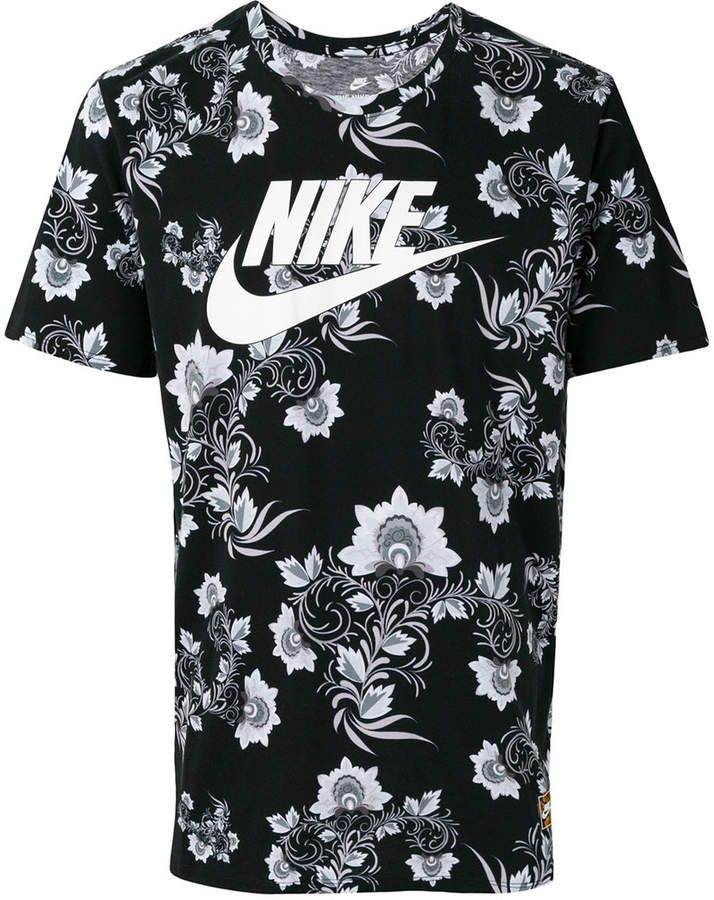 2b42bcdd Nike logo print T-shirt | Products | Nike mens shirts, Cotton shirts ...