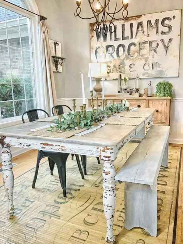 129 Superb French Country Dining Room Decor Ideas Diningroom