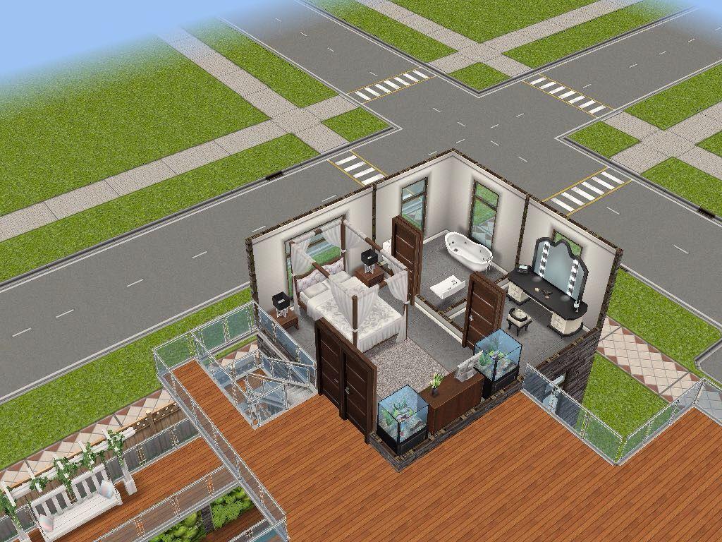 House 54 large urban loft level 3 sims simsfreeplay
