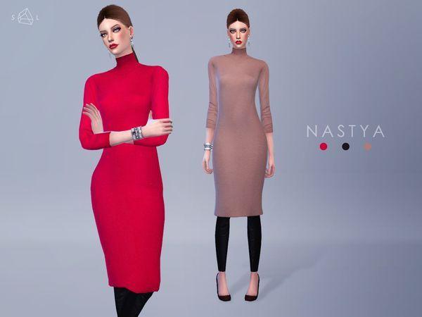 Sims 4 long dress maxi