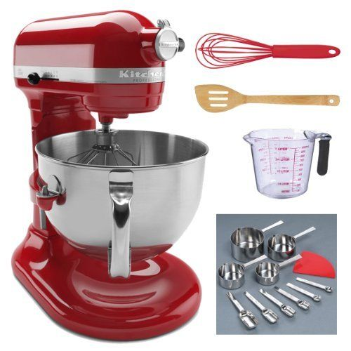 Kitchenaid Bowl Lift Stand Mixer Empire 6 Qt In Red