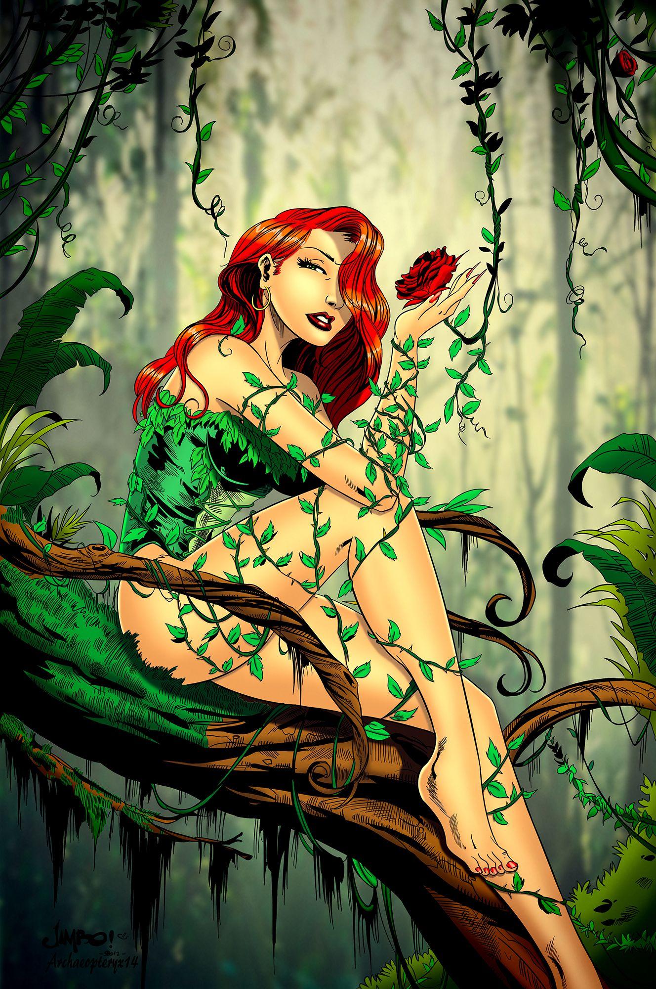 36186f8fe Poison Ivy by Archaeopteryx14.deviantart.com on @deviantART | Poison ...