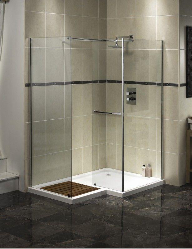 bathroom-luxury-square-walk-in-shower-with-rectangle-nickel-rain ...