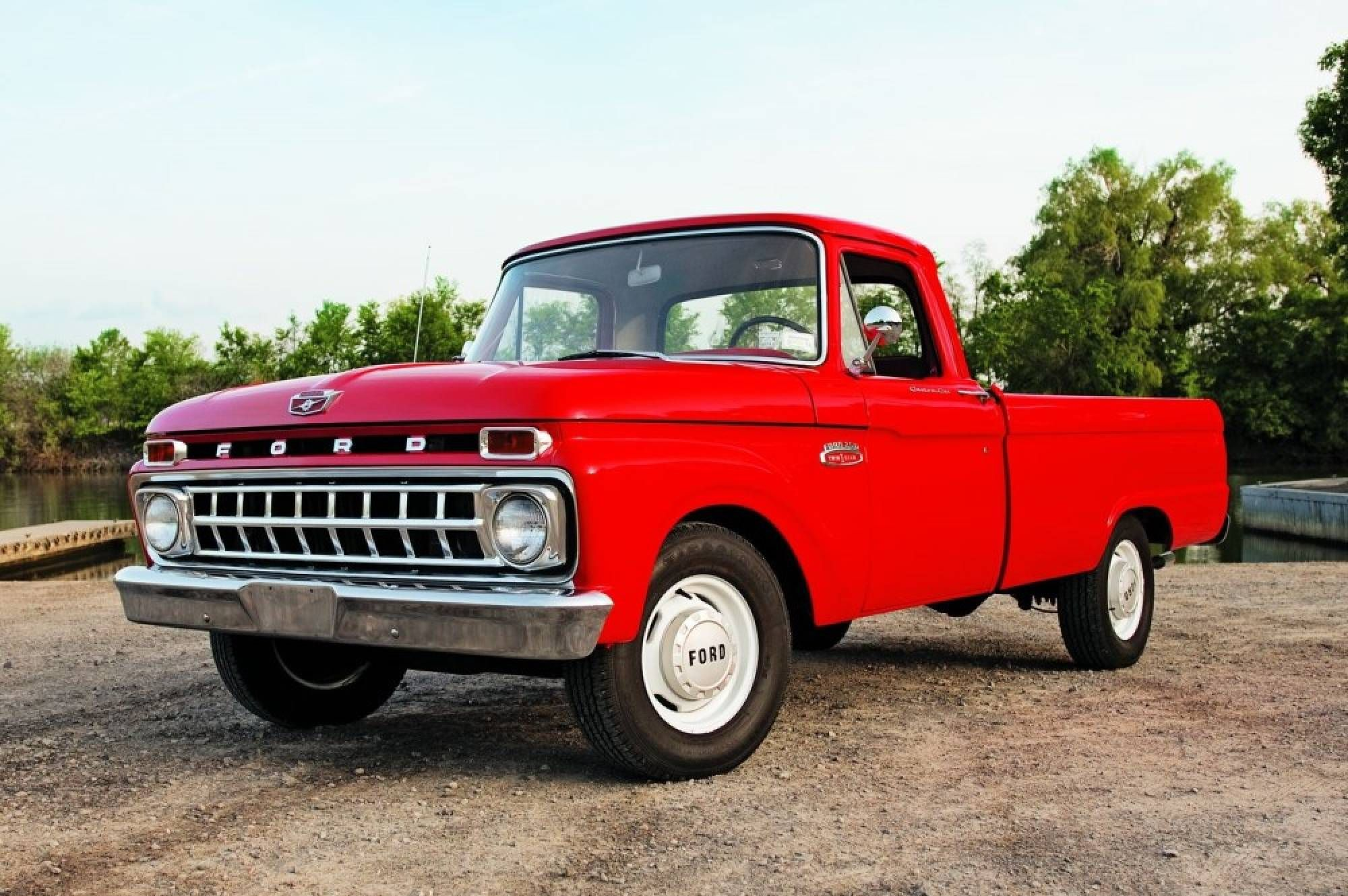 Split Decision 1965 Ford F 100 And F 250 Ford Trucks Truck