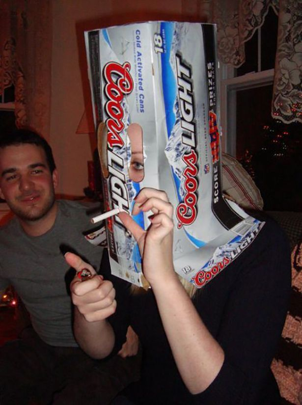 Bad Idea Jeans Beer Box Coors Light Beer Can Coors