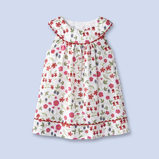 Liberty of London and Jacadi Toddler Dress...how I miss my girls ...