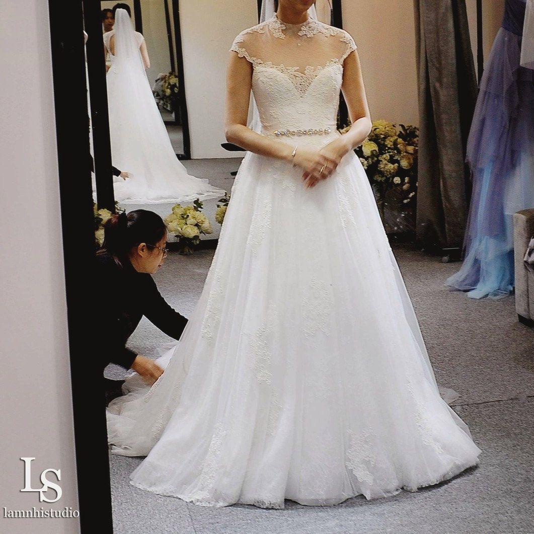 Pin on lace weddingdress