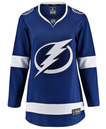 f36830310 Fanatics Women's Tampa Bay Lightning Breakaway Jersey - Blue XXL