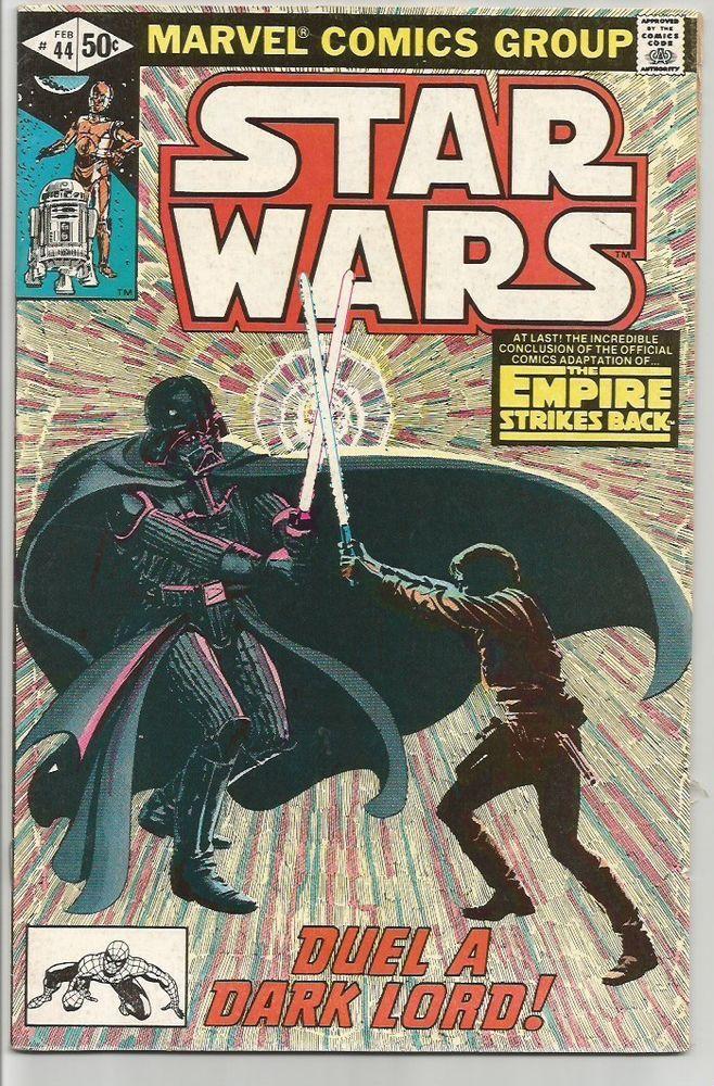 EMPIRE STRIKES BACK --STAR WARS #44 Marvel Comics 1st Print & oldest Series