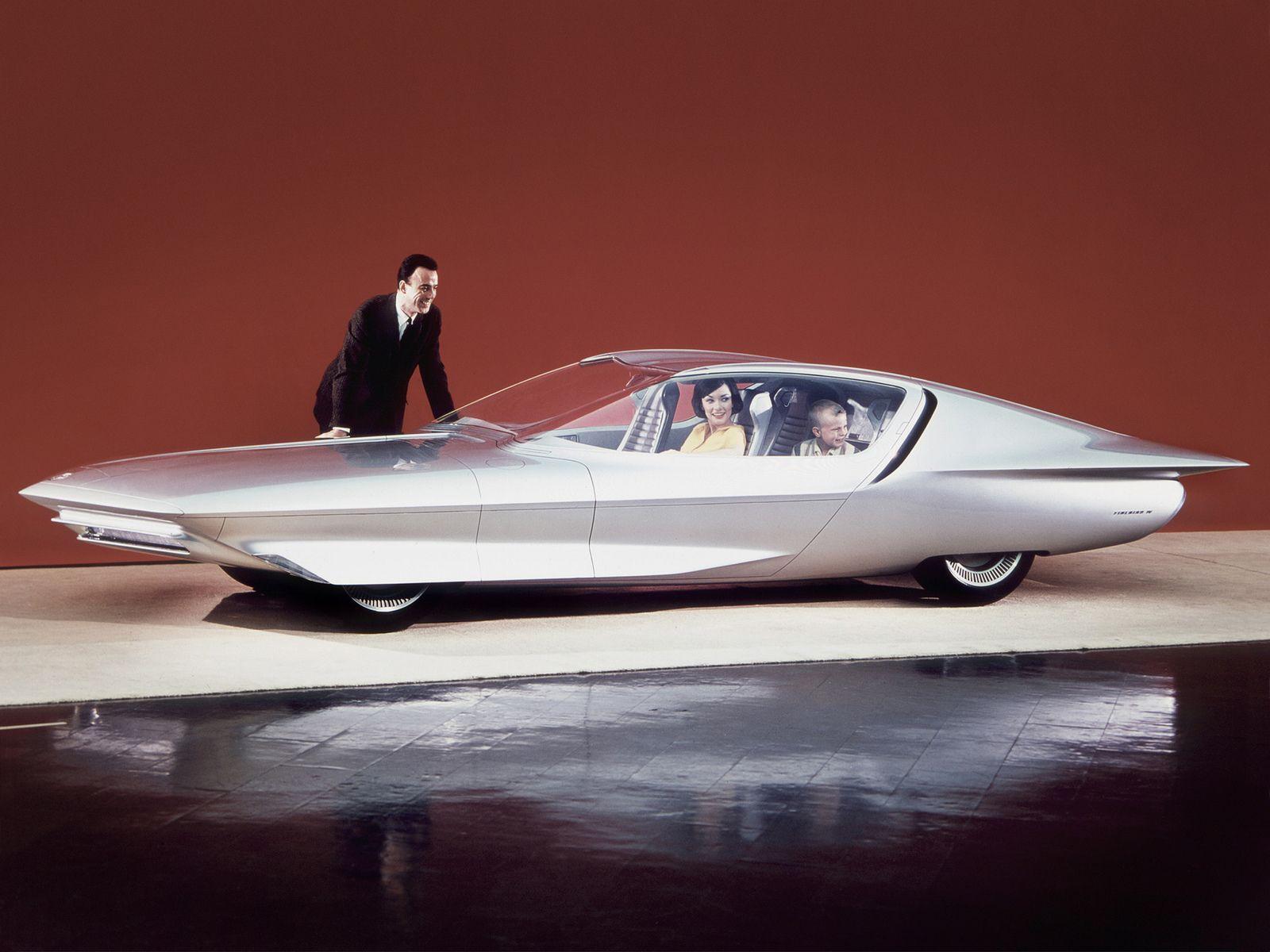 Gm Firebird Iv Concept Car 1964 Concept Cars Weird Cars Buick Century