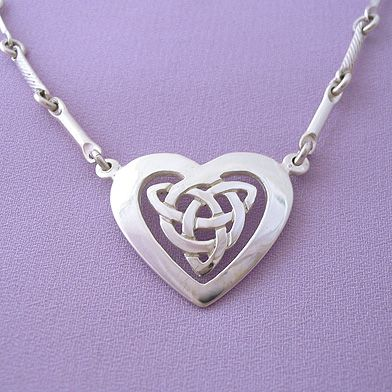 Celtic heart pendant necklace celtic jewelrylove the chain in celtic heart pendant necklace celtic jewelrylove the chain in this necklace aloadofball Images