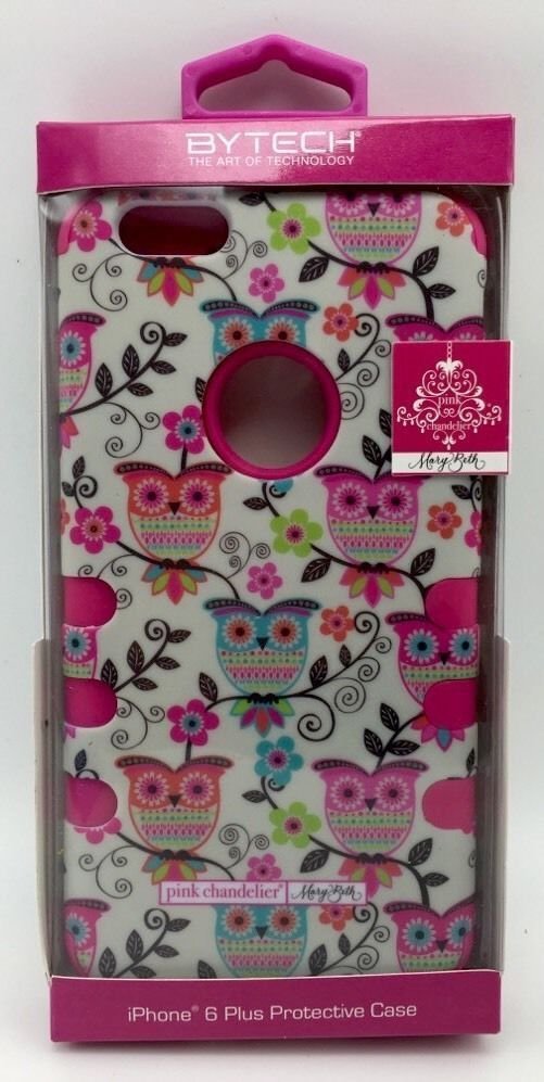 Bytech Mary Beth Pink Owl Iphone 6 Plus Protective Case New In Package