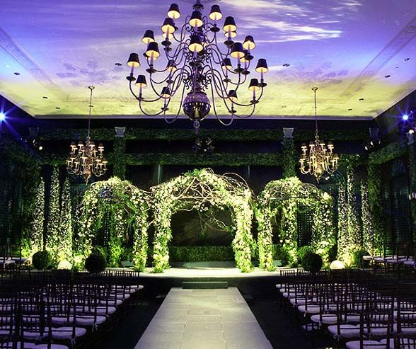 Wedding Lighting, Indoor Lighting, Wedding Lighting Ideas, Wedding Lights || Colin Cowie Weddings