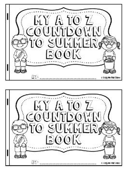 End of Year Countdown, BRIGHT A to Z Summer Countdown