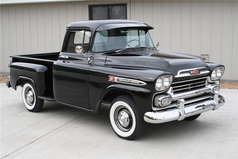 1959 Chevrolet Apache Pickup Barrett Jackson Auction Company