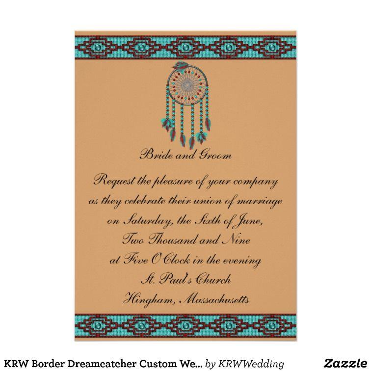 Native American Wedding Invitations Announcements