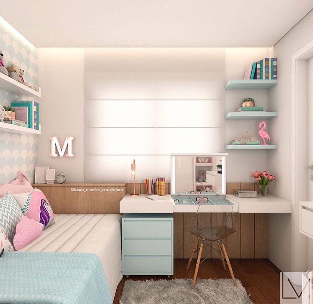 Quarto de garota pinterest dormitorio ideas - Habitaciones juveniles nina ...