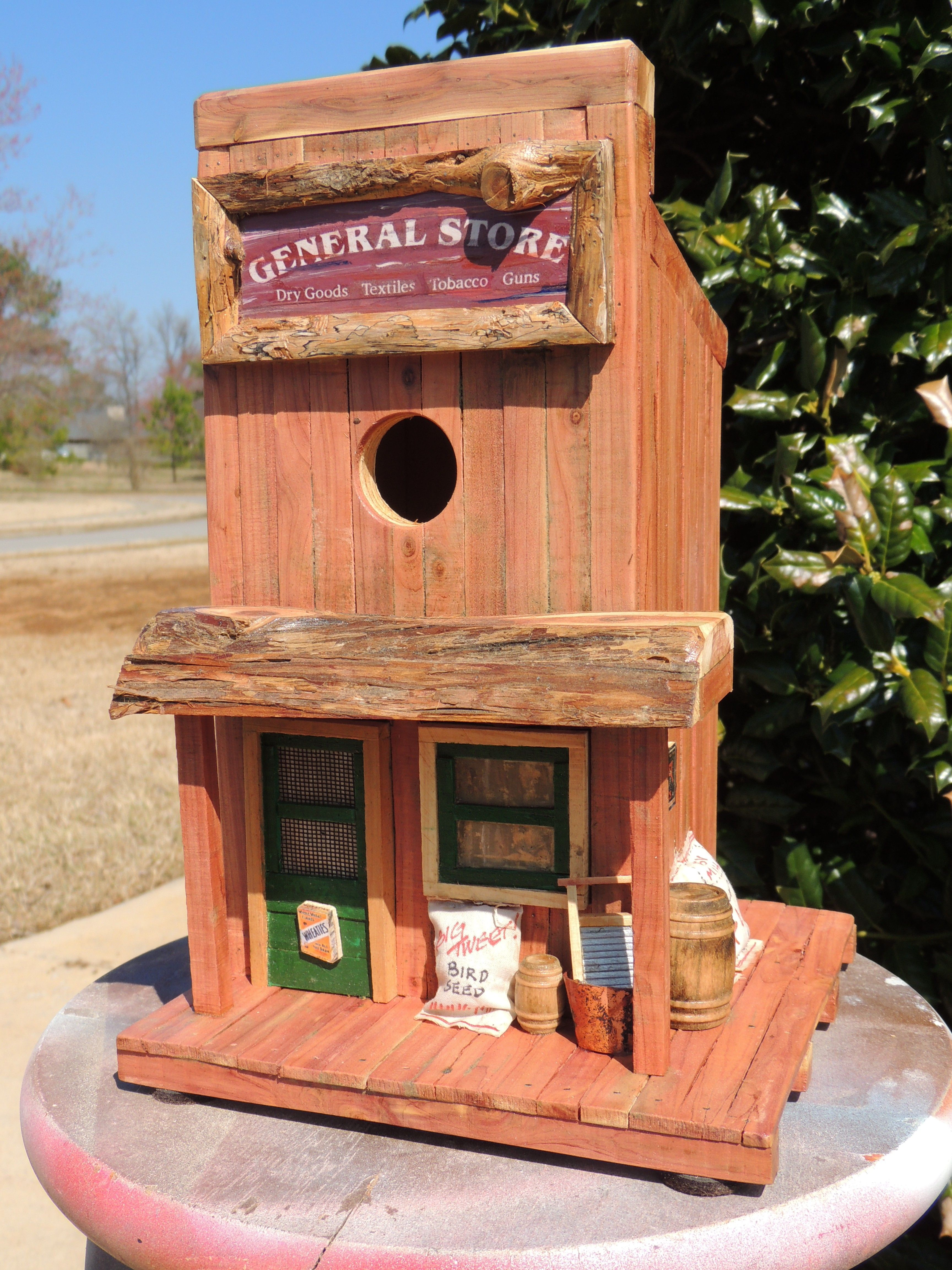 Incredible The General Store Birdhouse Most People Dont Put The Home Interior And Landscaping Palasignezvosmurscom