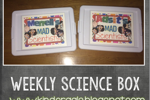 Weekly Science Box: Easy Science Experiments!