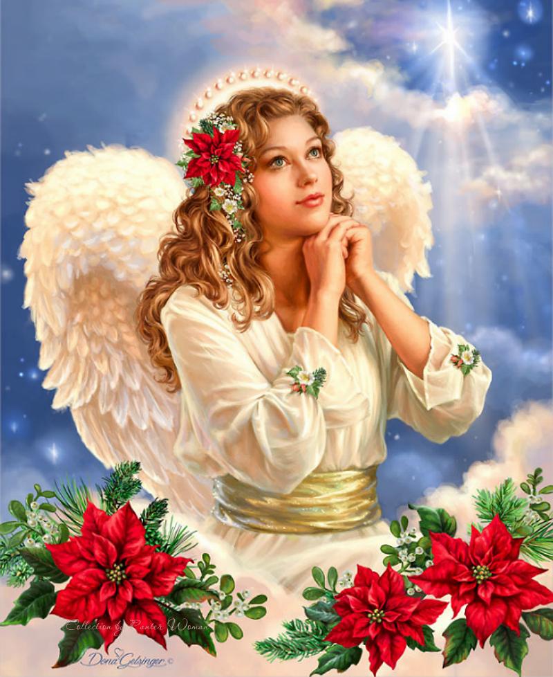 Картинка ангел блестящий